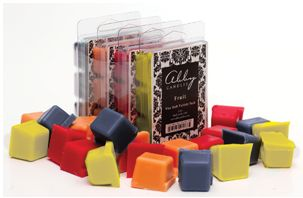 Fruit Wax Melt Variety Pack for $18 Includes 1 pack each of Juicy Apple, Wild Blueberries, Lemon Drop and Mango Sangria.  Approx. 120 hours of fragrance. 2.5oz of each scent , 10oz total.  Please note that the price of this product includes an online processing fee and may be different from pricing seen in brochures. We appreciate your support of this fundraiser!!!