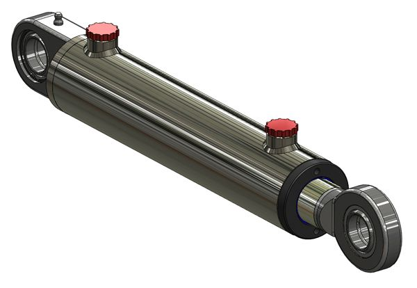 Welded-spherical-bearing-mounted-hydraulic-cylinders