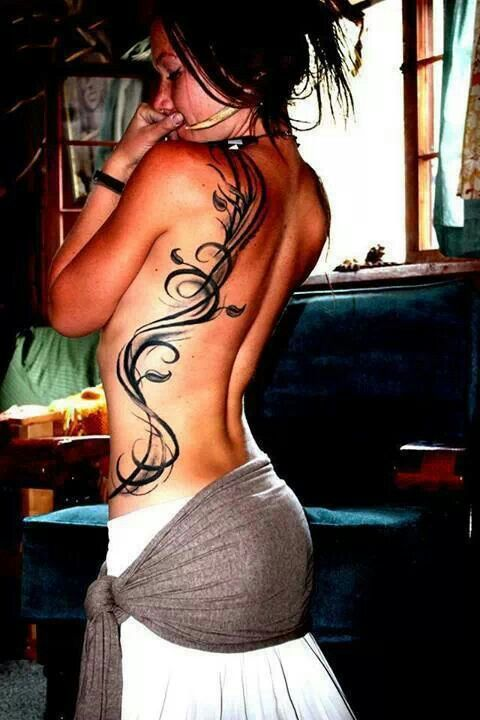 http://tattoo-ideas.us #Back tattoo