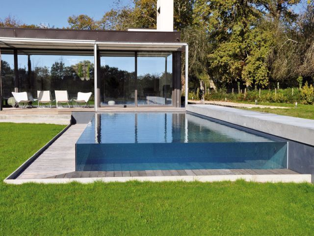 21 curated landscaping pools ideas by lacasdesign - Prix piscine carre bleu ...