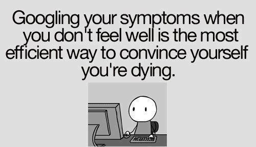 googling sickness meme - Google Search