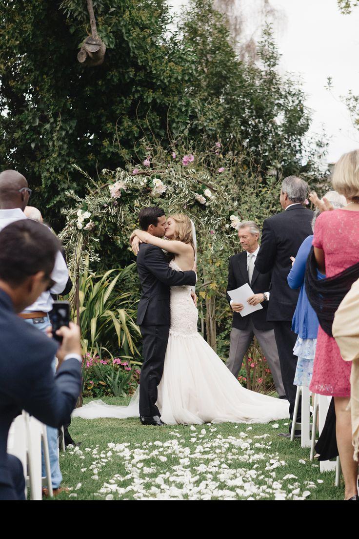 Rustic, Elegant Barn Wedding in Santa Cruz