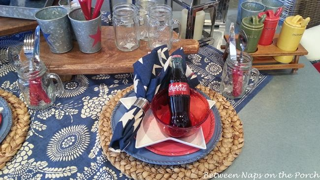 Three Summer Tablescapes: Patriotic and Nautical Inspired