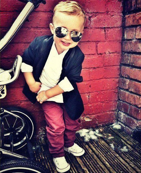 Hopefully, my future kids will have this much fashion!