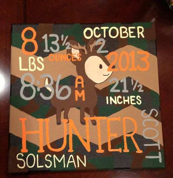 Hey, I found this really awesome Etsy listing at http://www.etsy.com/listing/174424884/hunters-camo-baby-canvas