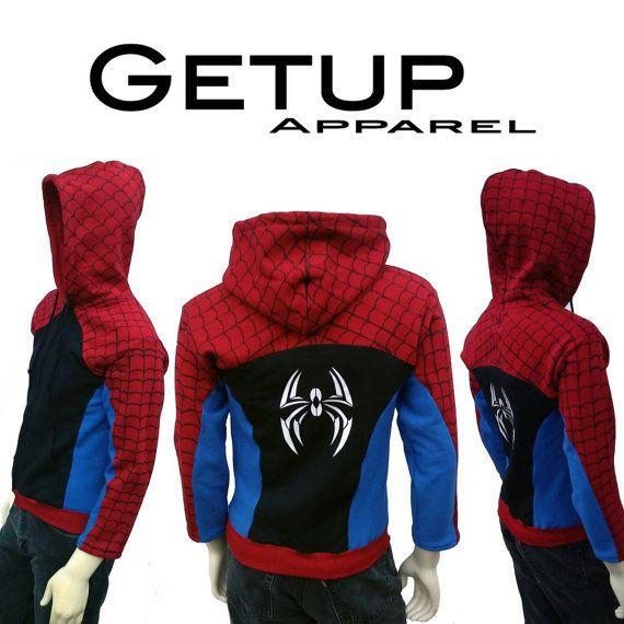 Urban Webslinger Spiderman Inspired Hoodie