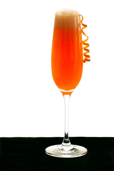 Slow Juicer Orange Peel : Campari Mimosas...yeah love Campari! Recipes: Drinks & Libations Pinterest