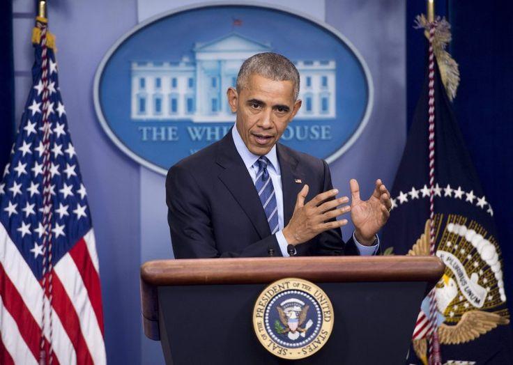Letzte Jahresend-Pressekonferenz: Obama warnt die Welt - und Trump - vor Putin - SPIEGEL ONLINE - Politik