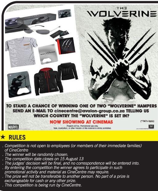 Unleash Your Intelligence - Wolverine Hamper Giveaway