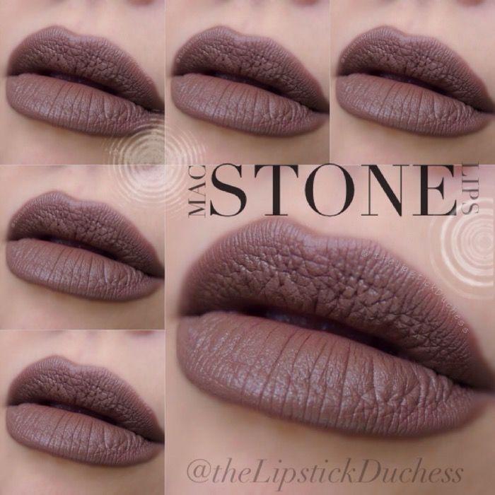 MAC Stone Lipstick | The Lipstick Duchess: Mac The Mattes