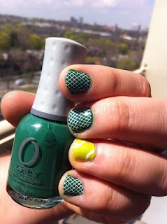 10 best tennis nails images on pinterest nail arts nail designs day 4 green manicure ideastennissportsgamechallengesstylenail prinsesfo Image collections