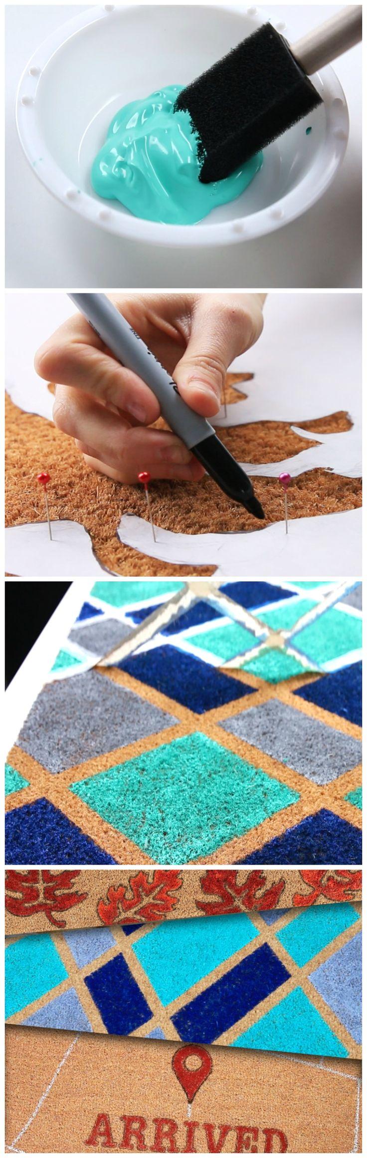 DIY | DIYHow to upgrade your doormat