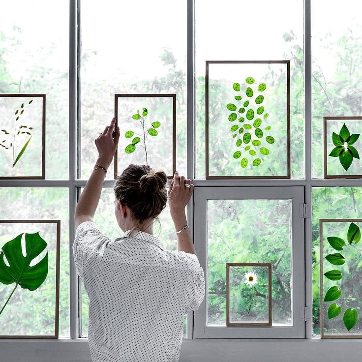 Holzrahmen transparent A3