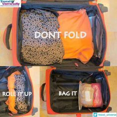 Lots of good tips! I could totally give a class on packing! I love to pack! Lol