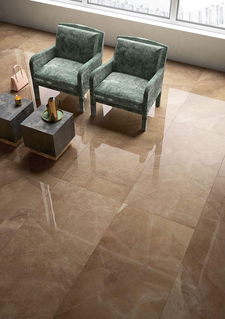 Carrelage imitation marbre - Marazzi 6755