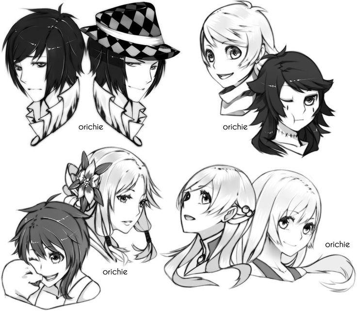 Commission_Sketch HeadShot_Batch 4 by orichie.deviantart.com on @deviantART
