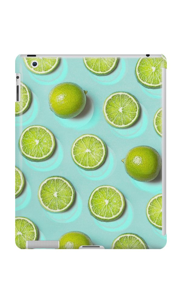 LIME FRUIT by adventura #ipadcase #ipad #case #trend #lime #limefruit #limegreen #fruit #pattern #accessory #decor #trending #trendy #green #turquoise