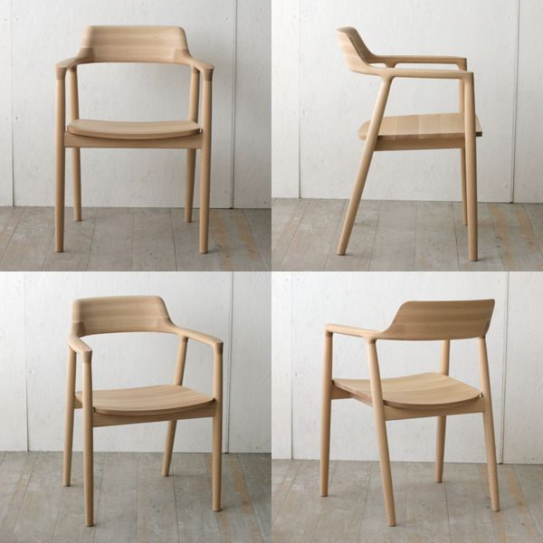 HIROSHIMA ARM CHAIR (beech)