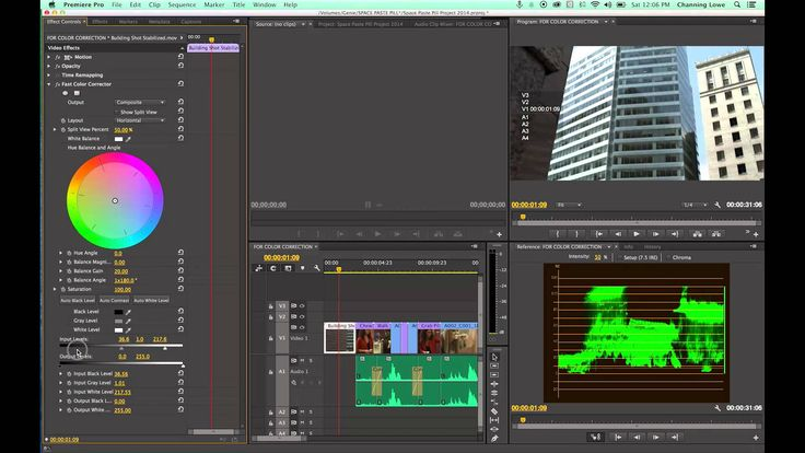 Tutorial Adobe Premiere Pro CC - Episode 17 - Color Correction within Prem Pro   ... 22 min. color correcting between two cameras