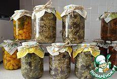 Баклажаны с чесноком и укропом на зиму - кулинарный рецепт