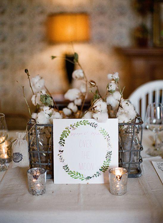 Elegant party with vintage farmhouse details