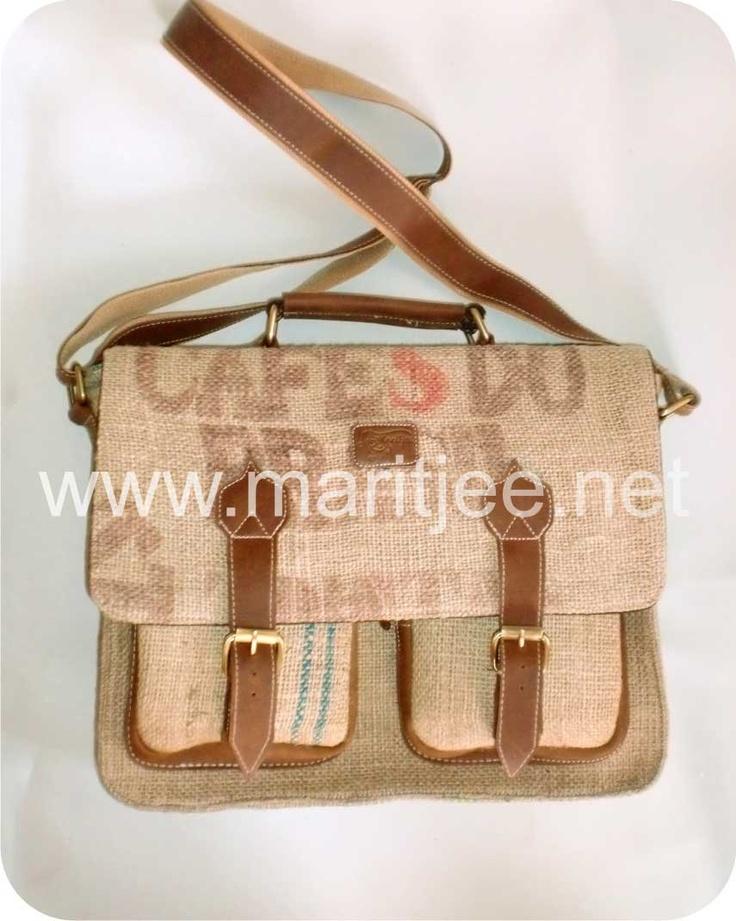 Mr. Postman Bag. $90.00, via Etsy. from Maritjee