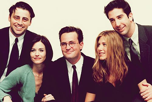 The friends cast (minus Lisa)