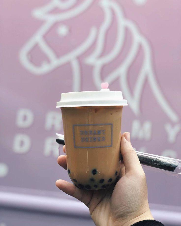 Dreamy drinks food truck yogurt drinks food truck milk tea