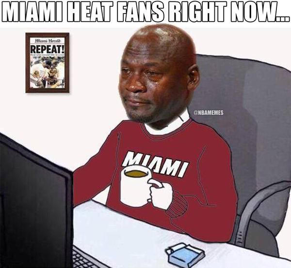 97268c11089d8e9457fa0171a25b0faf nba funny nba memes miami heat fans right now nbafunnymeme com nba memes,Heat Fans Meme