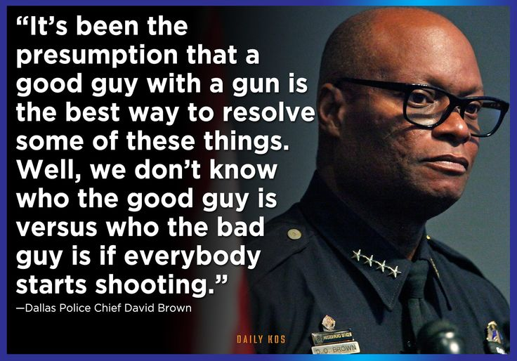 Sad that we needed a tragedy like Dallas (7-7-16) to begin to realize the very REAL truth of this!