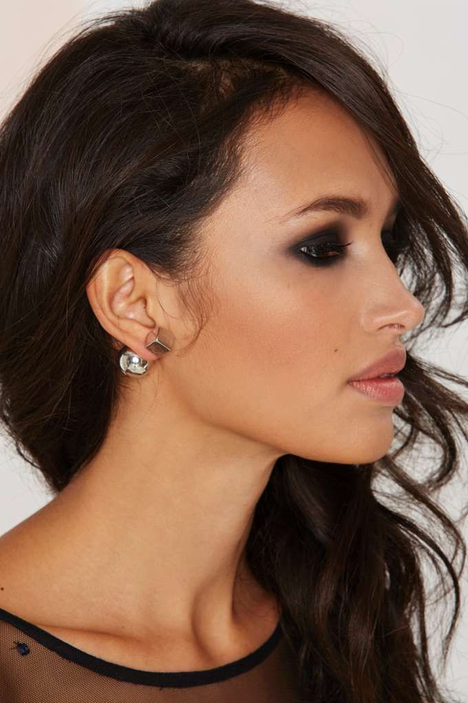 Square Off Jacket Earrings | Shop Accessories at Nasty Gal!