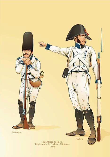 Regno di Spagna - Fusilero and Granadero at Bailen 1808