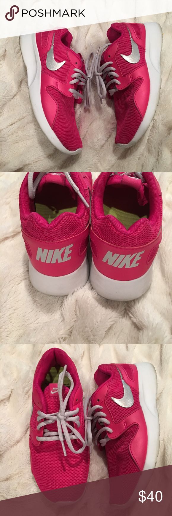 Nike Roshe Run Women's Shoe Size 6 Neon Pink Nike Roshe Run Women's Shoe Size 6 Neon Pink, Gray Nike Sign youth 4 Shoes Sneakers
