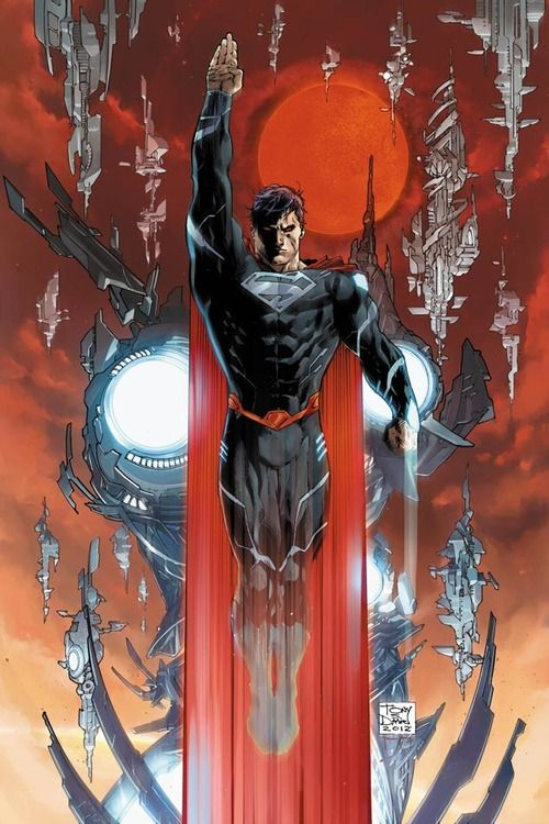 Superman's new threads.