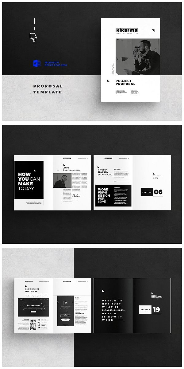proposal template design pinterest brochure template proposal