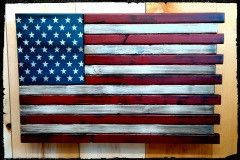 Custom Wooden Flag with hidden compartment. USA Custom wooden flag. home decor ideas, home decor for men