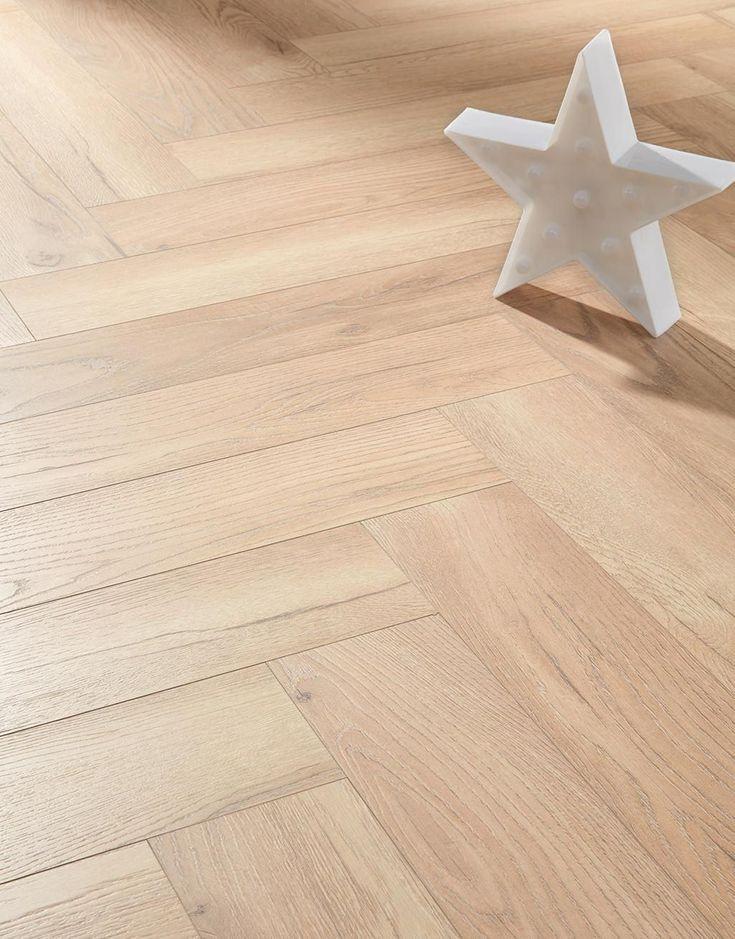 Herringbone Elegant Oak Laminate Flooring in 2020 Oak