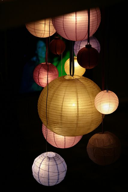 paper lanterns look gorgeous lit up from the inside with a hanging LED floralyte! http://www.lightalantern.co.za/online-shop/proddetail.asp?prod=HF