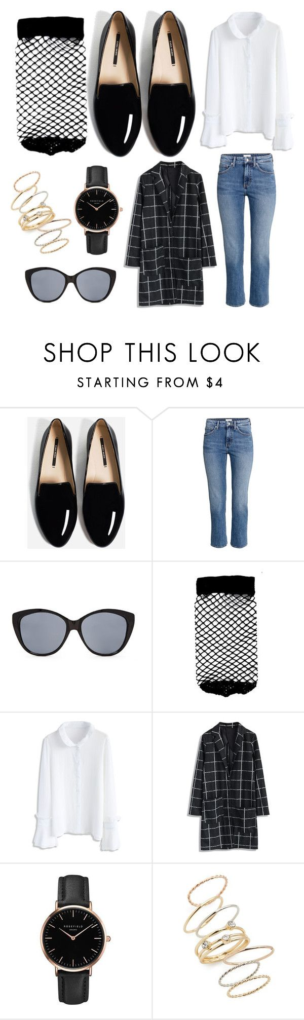 See how to style fishnet socks with black loafers for a fun fall outfit!