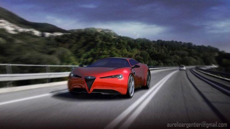 Alfa Romeo Stradale Concept, render (Foto 13/18) | AllaGuida