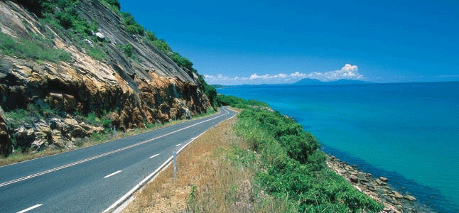 The Captain Cook Highway is the main link between Cairns and Port Douglas. This was a beautiful drive.