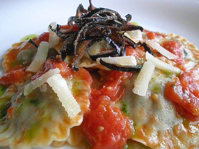 Ma come cucini?!: Ravioli di melanzane e provola affumicata