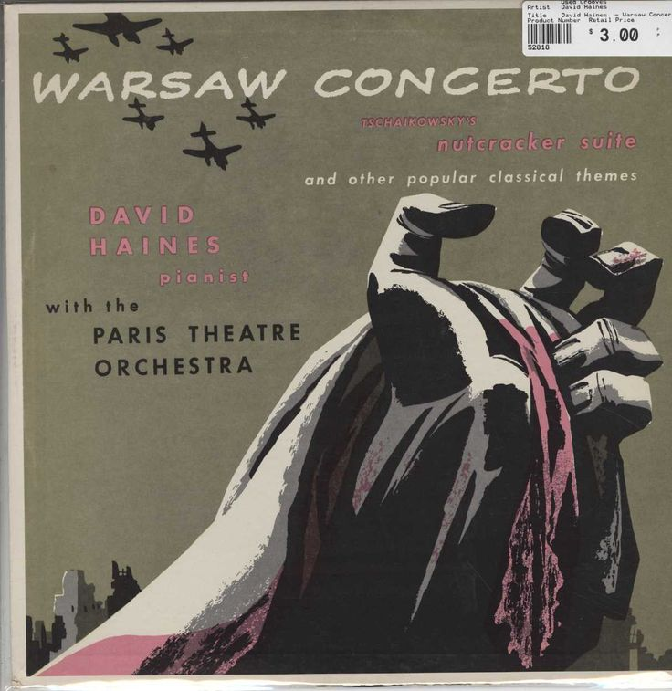 David Haines - Warsaw Concerto / Tschaikowsky's Nutcracker Suite And Other Popular Classical Themes