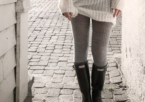 : Sweater, Hunters, Fashion, Hunter Boots, Rain Boots, Style, Outfit, Fall Winter