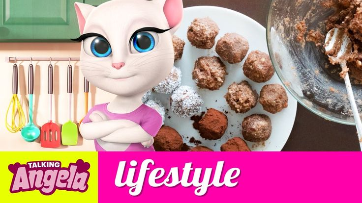 Cooking with Talking Angela - Vegan Chocolate Power Balls