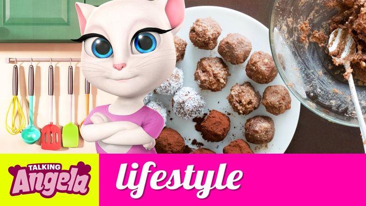 Cooking with Talking Angela - Vegan Chocolate Power Balls
