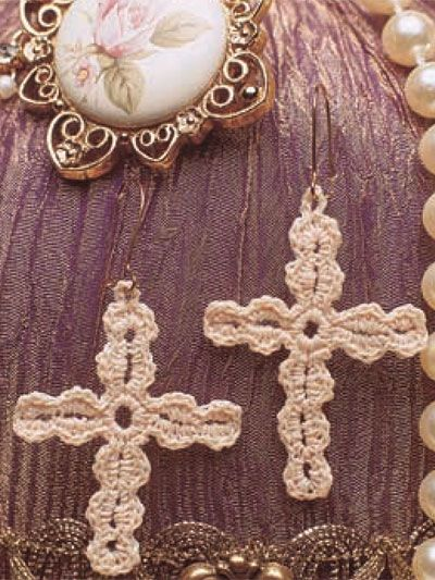 Gonna whip these up for Easter. Have some fine gold thread to run with the white. Yup! :)