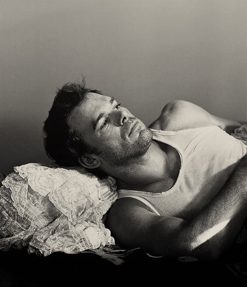 Michael C Hall. aka DEXTER (which rhymes with Sexter :P )