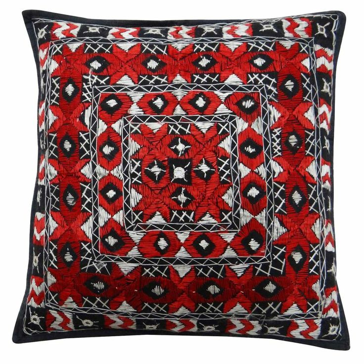 17 Best Images About Red And Black Throw Pillows On