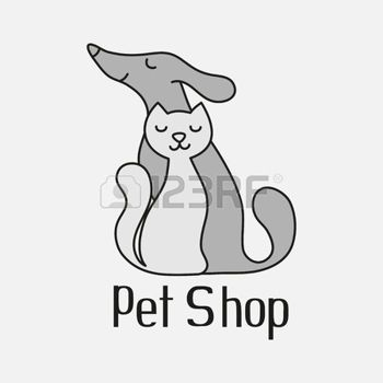 PES+A+KOCKA%3A+Cat+and+dog+sign+for+pet+shop+logo